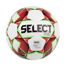 Míč Futsal Select  SAMBA bílo-červený